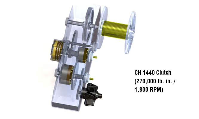 CH 1440 Clutch (270,000 lb. in. / 1,800 RPM)