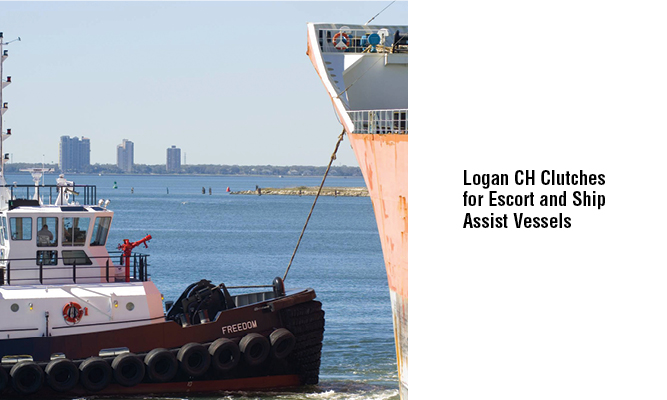 Logan CH Clutches for Escort and Ship Assist Vessels