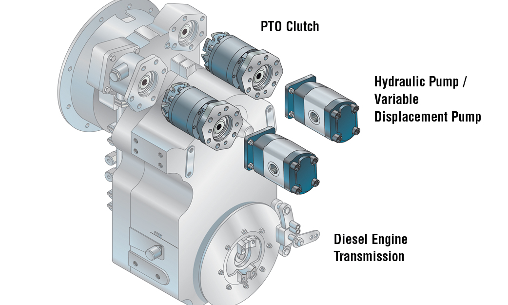 Diesel Engine Transmission