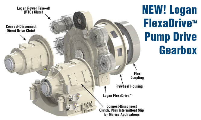 NEW! Logan FlexaDriveTM Pump Drive Gearbox