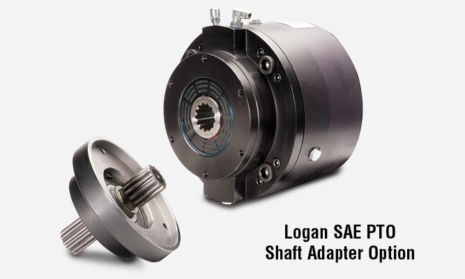 Logan SAE PTO Shaft Adapter Option