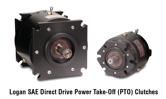 Logan SAE Direct Drive Power Take-Off (PTO) Clutches