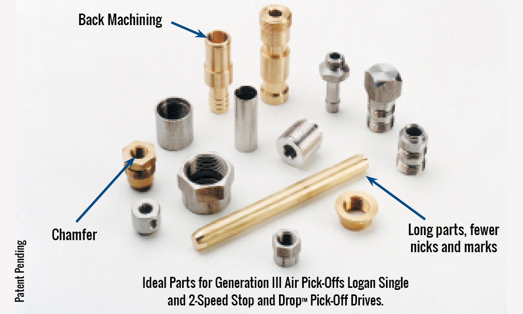 Ideal Parts for Generation III Air Pick-Offs Logan Single and 2-Speed Stop and DropTM Pick-Off Drives.
