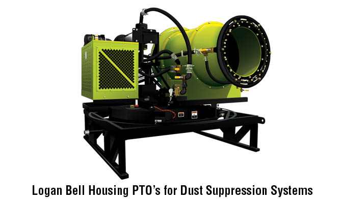 Logan Bell Housing PTO's for Dust Suppression Systems